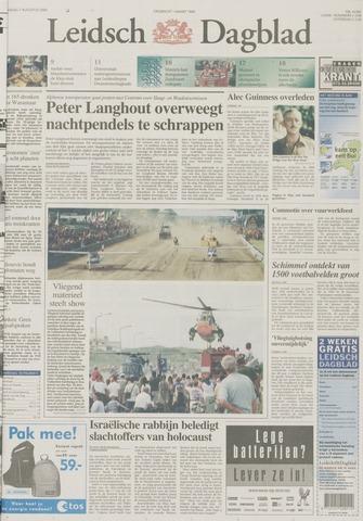 Leidsch Dagblad 2000-08-07