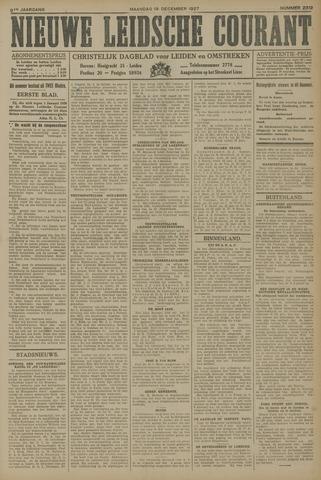 Nieuwe Leidsche Courant 1927-12-19