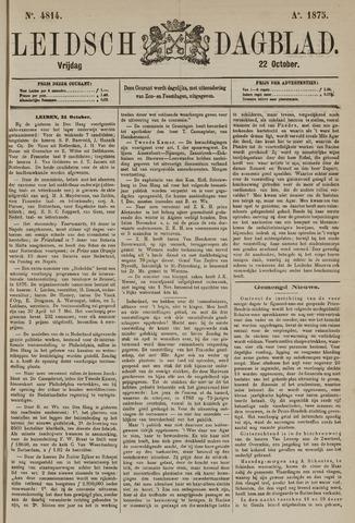 Leidsch Dagblad 1875-10-22