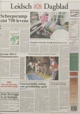 Leidsch Dagblad 1994-09-28