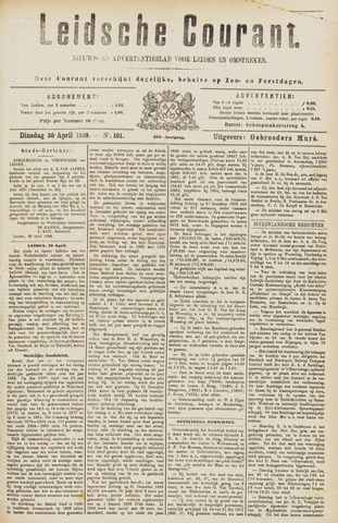 Leydse Courant 1889-04-30