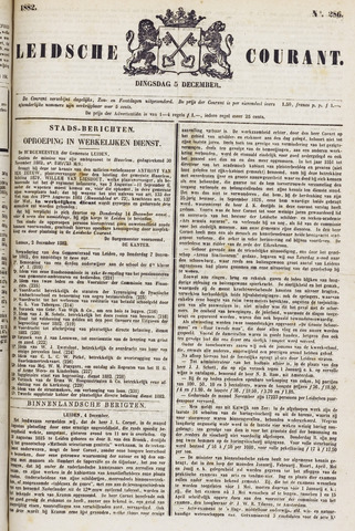 Leydse Courant 1882-12-05