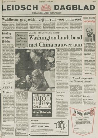 Leidsch Dagblad 1980-01-25