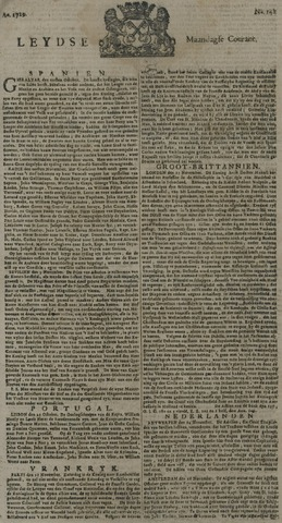 Leydse Courant 1729-11-28