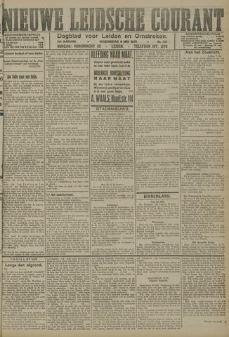 Nieuwe Leidsche Courant 1921-05-04