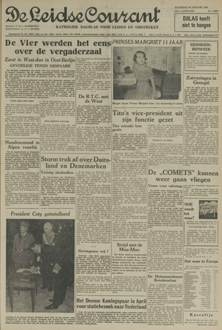 Leidse Courant 1954-01-18
