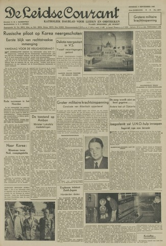 Leidse Courant 1950-09-05