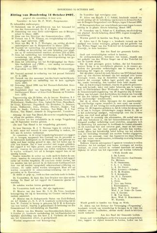 Handelingen van de Raad 1897-10-14