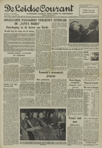 Leidse Courant 1961-02-03