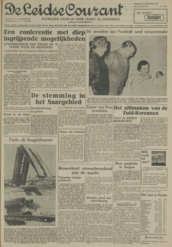 Leidse Courant 1955-08-09