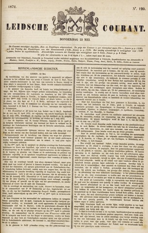 Leydse Courant 1872-05-23