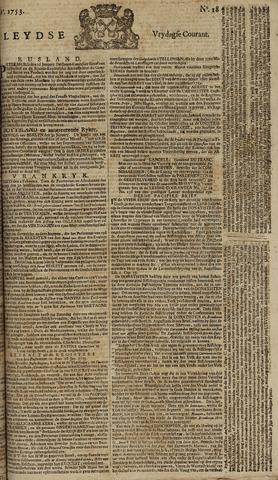 Leydse Courant 1753-02-09