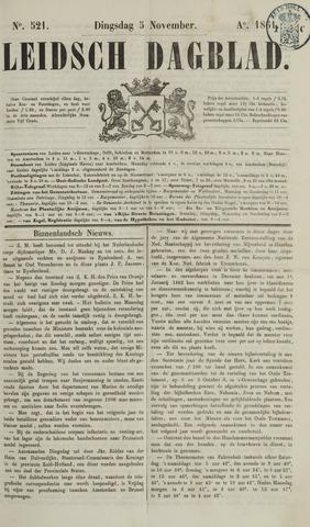 Leidsch Dagblad 1861-11-05