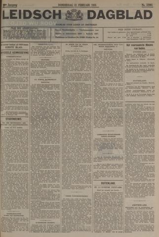 Leidsch Dagblad 1935-02-21