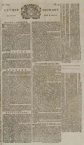 Leydse Courant 1805-04-29