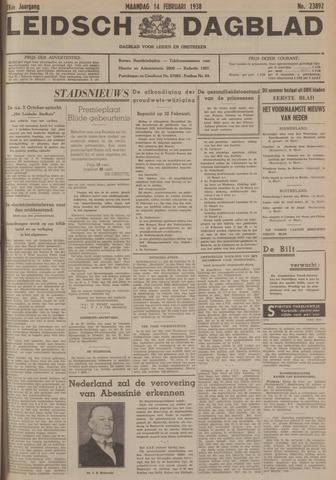 Leidsch Dagblad 1938-02-14