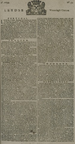 Leydse Courant 1734-04-28