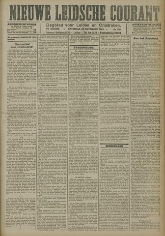 Nieuwe Leidsche Courant 1923-11-24