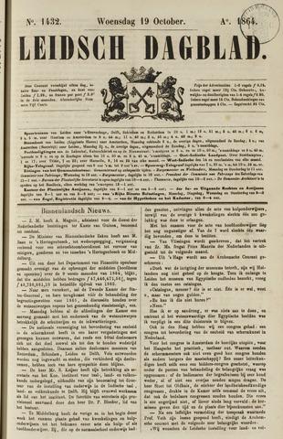 Leidsch Dagblad 1864-10-19