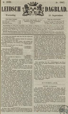 Leidsch Dagblad 1867-09-25
