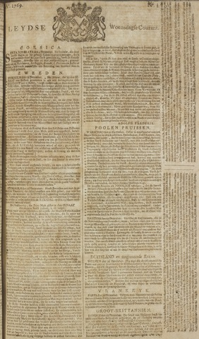 Leydse Courant 1769-01-04