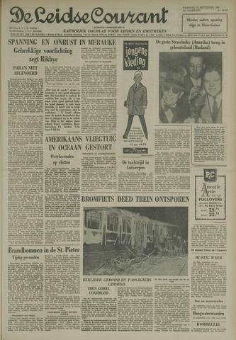 Leidse Courant 1962-09-24