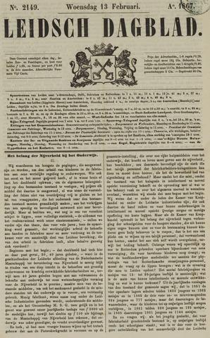 Leidsch Dagblad 1867-02-13