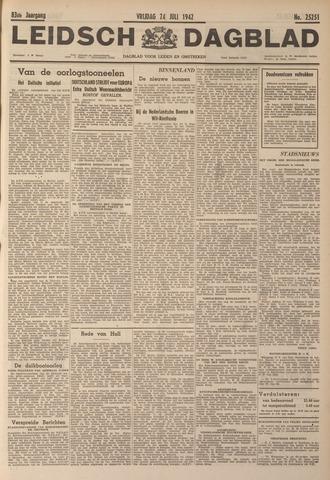Leidsch Dagblad 1942-07-24