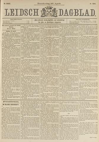 Leidsch Dagblad 1894-04-26