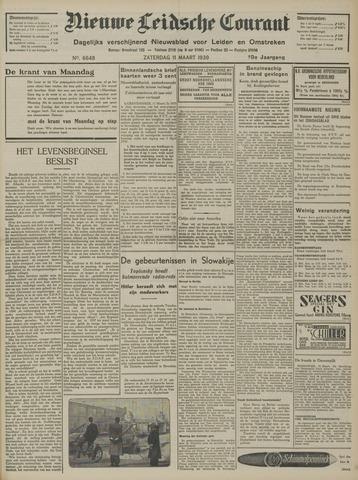 Nieuwe Leidsche Courant 1939-03-11