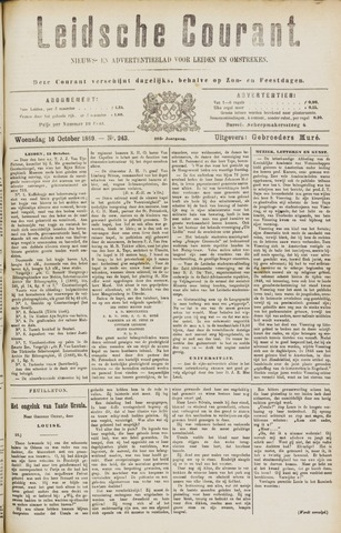 Leydse Courant 1889-10-16