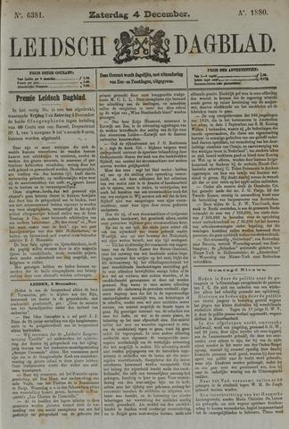 Leidsch Dagblad 1880-12-04