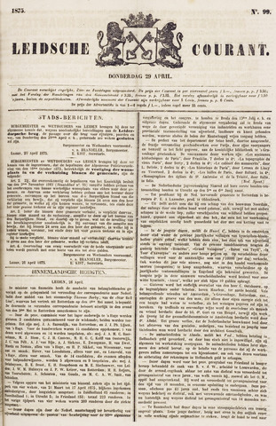 Leydse Courant 1875-04-29