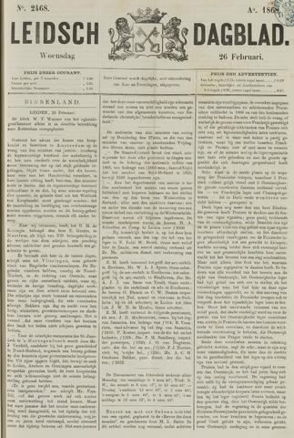 Leidsch Dagblad 1868-02-26