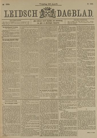 Leidsch Dagblad 1902-04-25