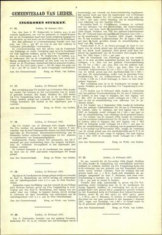 Handelingen van de Raad 1937-01-29
