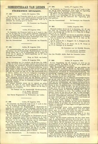 Handelingen van de Raad 1914-08-24