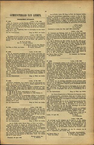 Handelingen van de Raad 1886-05-03