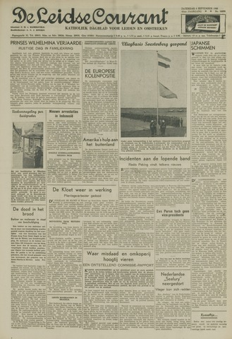 Leidse Courant 1951-09-01