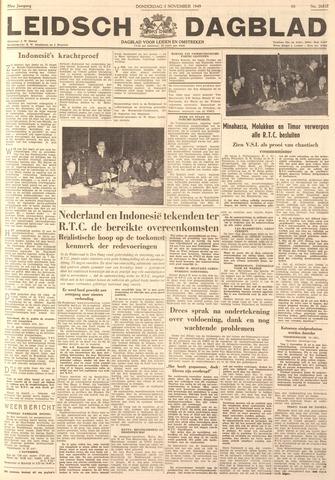 Leidsch Dagblad 1949-11-03