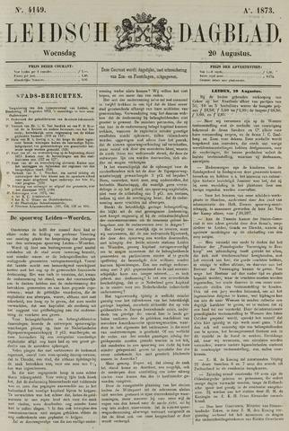 Leidsch Dagblad 1873-08-20