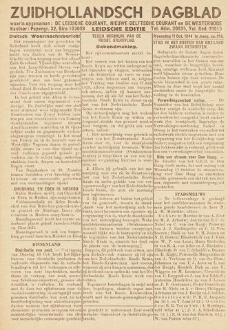 Zuidhollandsch Dagblad 1944-10-11