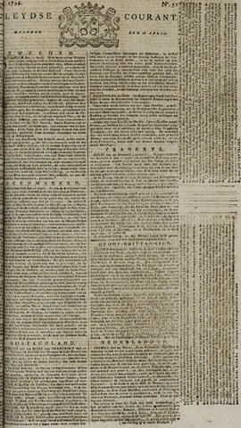 Leydse Courant 1794-04-28