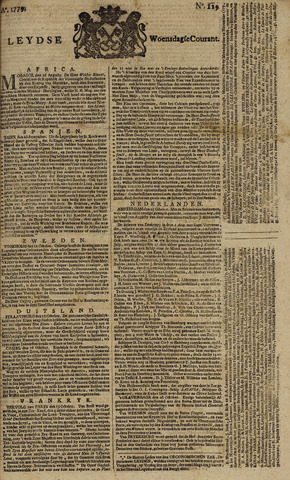 Leydse Courant 1779-10-27