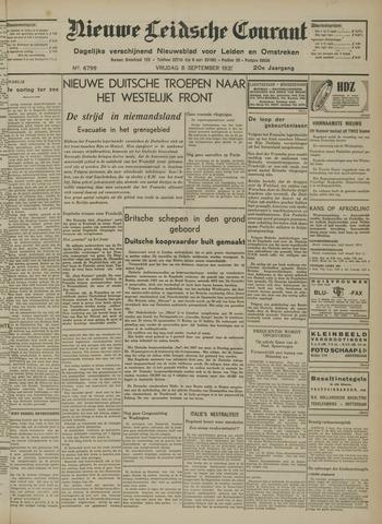 Nieuwe Leidsche Courant 1939-09-08