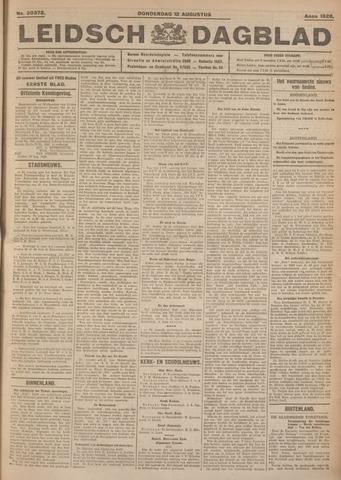 Leidsch Dagblad 1926-08-12