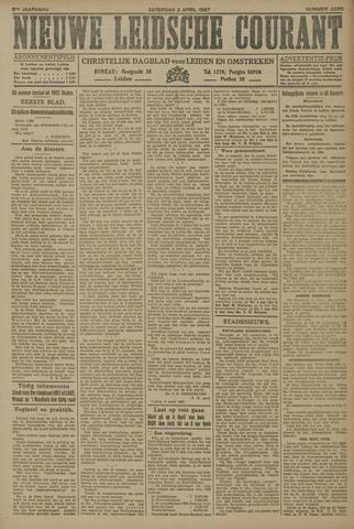 Nieuwe Leidsche Courant 1927-04-02