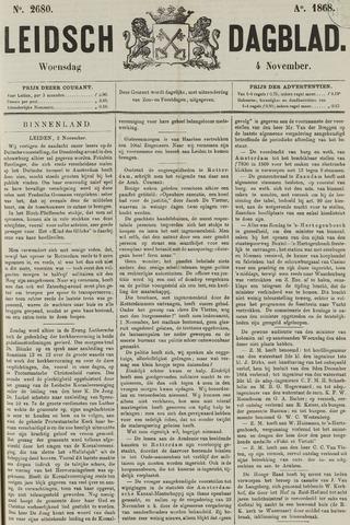 Leidsch Dagblad 1868-11-04