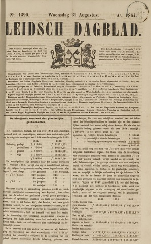Leidsch Dagblad 1864-08-31