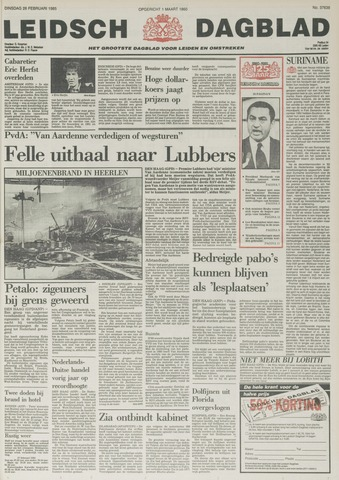 Leidsch Dagblad 1985-02-26